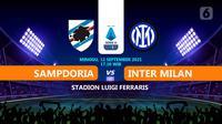 Sampdoria vs Inter Milan. (Liputan6.com/Niman)