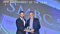 Senior Vice President Lagardere Sports, Patrick Feizal Joyce, memuji kualitas SMBC Singapore Open. (Dok Lagardere Sports)