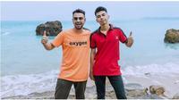 Raffi Ahmad dan Dimas Ahmad (Sumber: Instagram/@dimas_baam)
