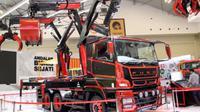 Super Great V Spider menjadi truk yang paling menarik perhatian pengunjung GIAAS 2018.