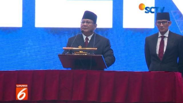 Prabowo juga berkomitmen tingkatkan profesionalisme dalam pengelolaan negara untuk memberikan rasa aman, adil, dan makmur.