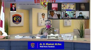 Wali Kota Tarakan Minta PPKM Level 4 Dilaksanakan Secara Bijaksana