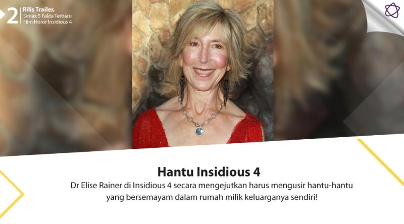 Rilis Trailer Simak 5 Fakta Terbaru Film Horor Insidious 4 News Entertainment Fimela Com