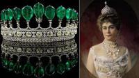 Tiara tersebut terbilang langka mengingat berlian yang menjadi bahan pembuatnya sangat sulit ditemukan.