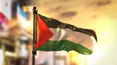 Ilustrasi bendera Palestina