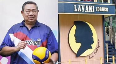Bikin Baper, Ini Arti Klub Voli dan Cafe 'Lavani' Milik SBY