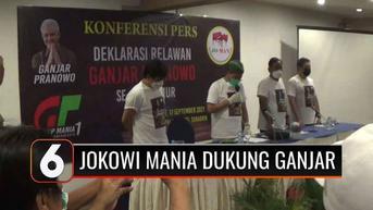 VIDEO: Jokowi Mania Deklarasikan Dukungan untuk Ganjar Pranowo, Pakar Politik: Terlalu Pagi
