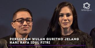 Wulan Guritno akan berkumpul di rumah eyang saat Hari Raya Idul Fitri 1438 H.
