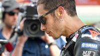 Pembalap Monster Energy Yamaha, Valentino Rossi. (AFP/Tiziana Fabi)