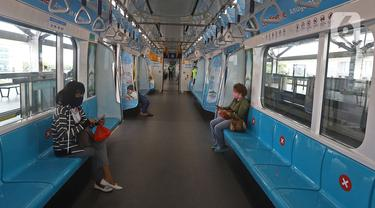 Penumpang MRT Wajib Pakai Masker