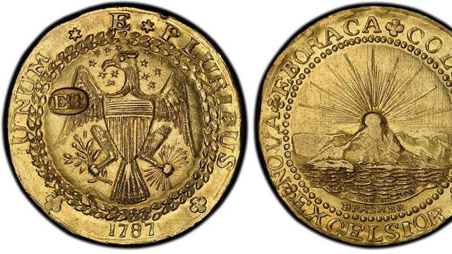 1787 Brasher Doubloon (Brilio.net)