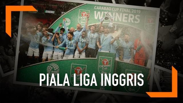 Klub Manchester City berhasil mempertahankan gelar juara piala liga inggris usai kandaskan Chelsea lewat drama adu penalti.