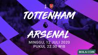 Premier League - Tottenham Hotspur Vs Arsenal (Bola.com/Adreanus Titus)