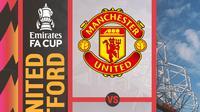 Piala FA - Manchester United Vs Watford (Bola.com/Adreanus Titus)
