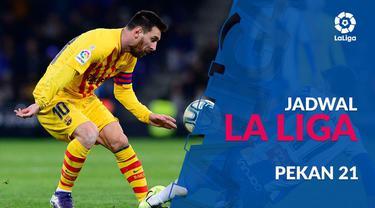 Berita video jadwal La Liga 2019-2020 pekan ke-21. Barcelona bertandang ke markas Valencia, Sabtu (25/1/2020) di Stadion Mestalla, Valencia.