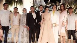 Citra Kirana hadir di acara pernikahan Jeje dan Syahnaz ditemani oleh kekasihnya, Ali Syakieb. (Foto: instagram.com/citraciki)