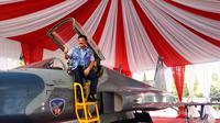 Kepala Staf TNI AU (KSAU) Marsekal TNI Hadi Tjahjanto. (Liputan6.com/Switzy Sabandar)