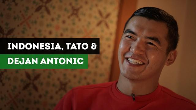Persib Vs Borneo FC, Azamat Baimatov Bercerita tentang Indonesia, Tato dan Pelatih Dejan Antonic