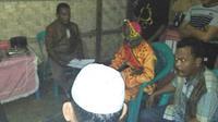 Pernikahan di Bawah Umur di Gorontalo Batal Karena Mempelai Pria Ditangkap Polisi. (Liputan6.com/Aldiansyah Mochammad Fachrurrozy).