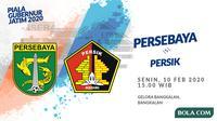 Piala Gubernur Jatim 2020: Persebaya Surabaya vs Persik Kediri. (Bola.com/Dody Iryawan)