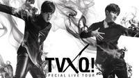 Yunho bersama rekannya dari TVXQ, Changmin yang akan mendaftar wamil dalam waktu dekat.