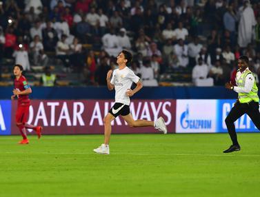 Aksi Nekat Fans Real Madrid di Semifinal Piala Dunia Antarklub 2018