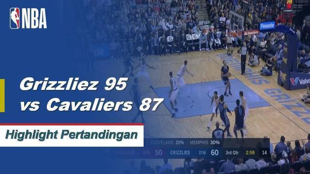 Marc Gasol mendapat 20 poin dan 9 rebound dalam kemenangan melawan Cavaliers 95-87