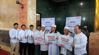 Telkomsel menggelar program CSR Infaq ke Masjid Agung Lombok Tengah. Liputan6.com/Jeko Iqbal Reza