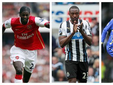 Liga Inggris dengan Premier League nya tentu menjadi magnet pemain manapun di dunia, termasuk Afrika. Ada beberapa pemain asal Afrika yang kerasan bermain di premier League hingga lebih dari 10 musim. Berikut 5 pemain tersebut. (Kolase Foto AFP)