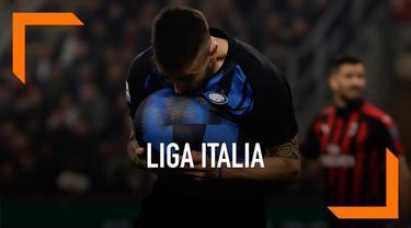 Inter Milan naik ke posisi tiga klasemen liga italia usai kalahkan AC Milan dalam  laga derbi sengit Minggu (17/3) malam waktu setempat.