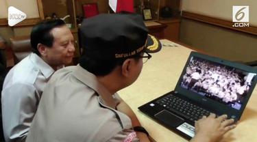 Viral sebuah video berisi anak-anak berseragam Pramuka meneriakkan #2019GantiPresiden.