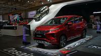 Mitsubishi Xpander jadi bintang GIIAS 2017. (MMKSI)
