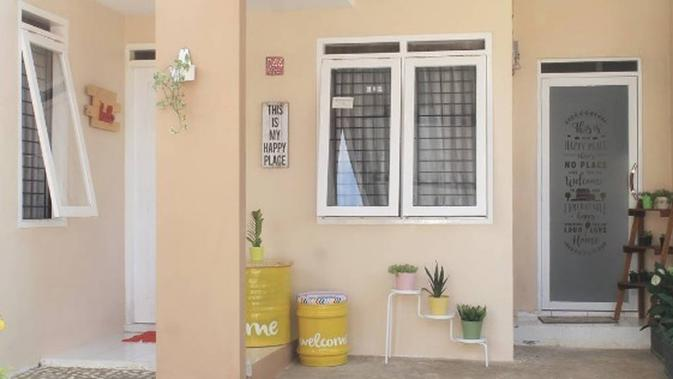 Kumpulan Koleksi Gambar Rumah Sederhana Beserta Warna Catnya HD Terbaik