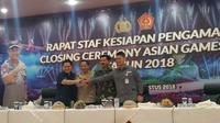 9 ribuan personel gabungan disiapkan amankan penutupan Asian Games 2018.