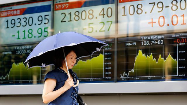 Rudal Korea Utara Bikin Bursa Saham Asia Ambruk