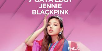 7 Gaya Edgy Jennie Blackpink
