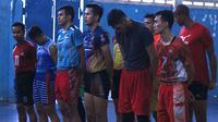 Pemain Surabaya Bhayangkara Samator yang akan mengarungi Proliga 2019. (Bola.com/Aditya Wany)