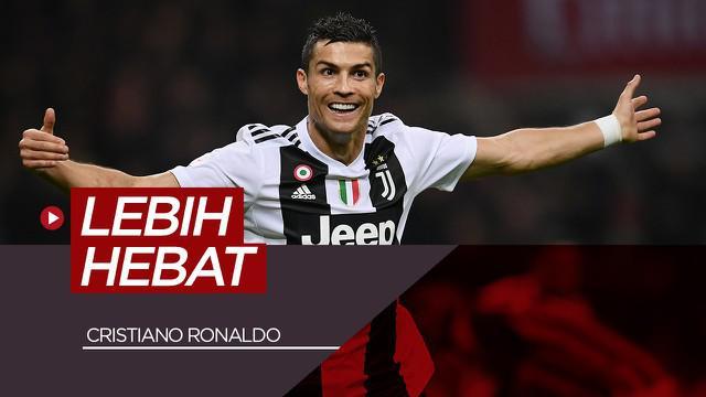 Berita video siapa yang lebih hebat? Cristiano Ronaldo vs 5 pesepakbola ini.