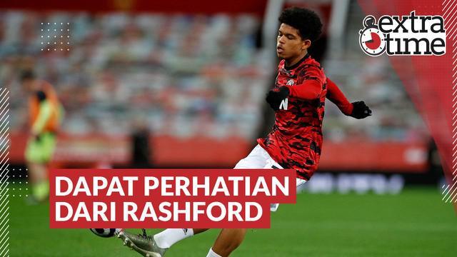 Berita Video Perhatian Khusus Marcus Rahsford untuk Pemain Muda Manchester United, Shola Shoretire