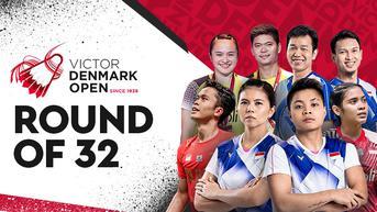 Jadwal Lengkap dan Live Streaming Denmark Open 2021 di Vidio