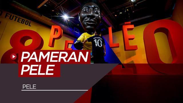 Berita video pameran kecil untuk rayakan ulang tahun ke-80 Pele di Musem Sepak Bola di Brasil