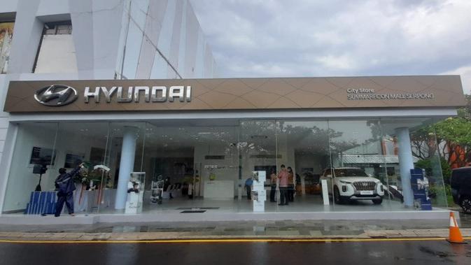 SMRA City Store Hyundai Bertambah, Kini Berdiri di Summarecon Mall Serpong - Otomotif Liputan6.com