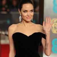 Angelina Jolie sepertinya sangat stres menjalani proses perceraiannya dengan Brad Pitt.(DANIEL LEAL-OLIVAS  AFP)