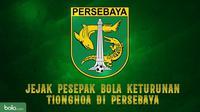 Tejak pesepak bola keturunan Tionghoa di Persebaya. (Bola.com/Dody Iryawan)