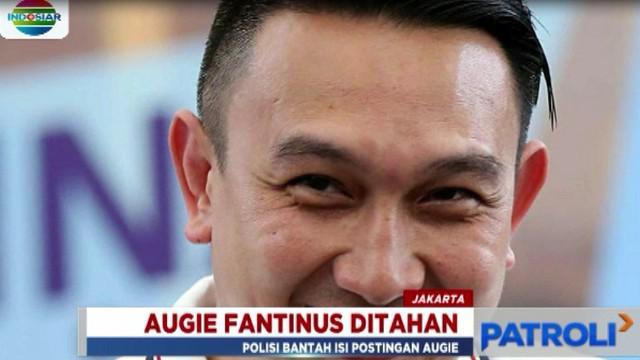 Augie Fantinus dijerat dengan pasal pencemaran nama baik serta UU ITE dengan ancaman hukuman maksimal enam tahun penjara.