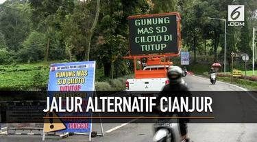 Kawasan Puncak Bogor kembali ditutup usai terjadinya longsor di perbatasan Kabupaten Cianjur dan Kabupaten Bogor.