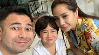 """""""Kan dulu anak gue masih dua tahun belum ngerti apa-apa, semua berubah saat Rafathar umur tiga tahun dan udah bisa nanya gue malu,"""" tutur Raffi Ahmad. (Instagram/raffinagita1717)"""
