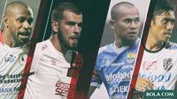 Trivia - Kapten Berpengaruh di Liga 1 (Bola.com/Adreanus Titus)