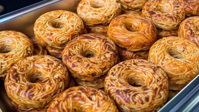 Resep Donat Spaghetti Cocok Untuk Ide Bisnis Kuliner