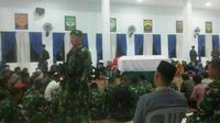 Serda Ilman tewas dalam Operasi Tinambala di Desa Towu, Kecamatan Poso Pesisir, Kabupaten Poso, Sulawesi Tengah, Rabu 27 Juli 2016. (Liputan6.com/Eka Hakim)